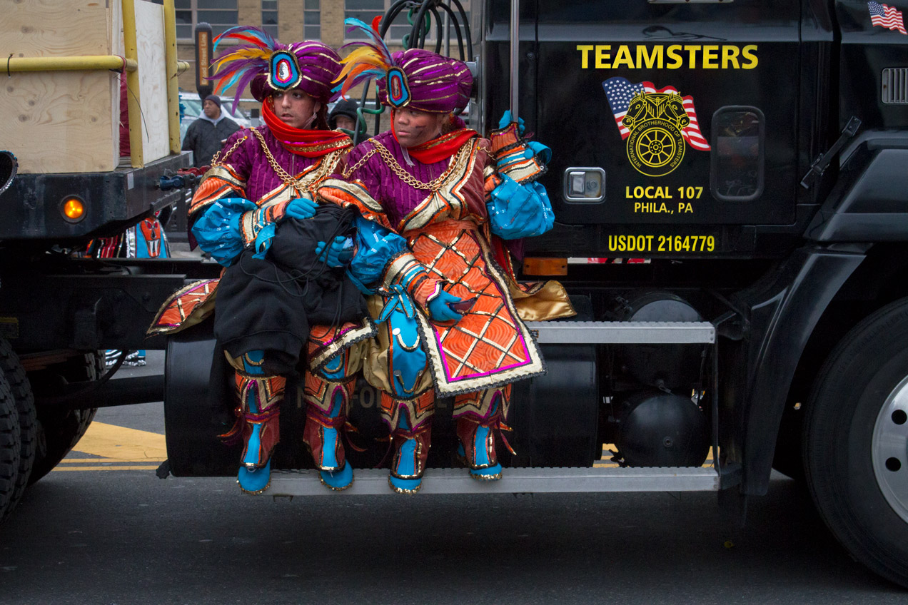 Little teamster mummers