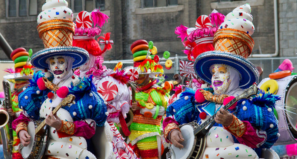 Mummers photograph collection
